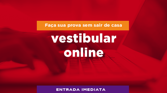 Vestibular online Campina Grande