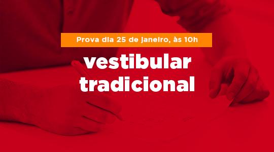 Vestibular tradicional - Campina Grande