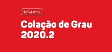 Colação de Grau Drive Thru de 2020.2 acontece próxima semana