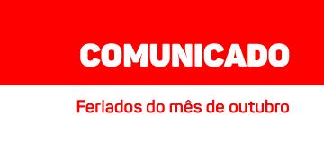 COMUNICADO: Feriado de dia dos professores é antecipado para segunda (11) no UNIESP