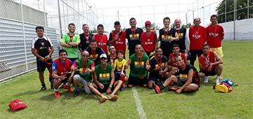 Funcionários do IESP participam de torneio de futebol do Dia do Trabalhador
