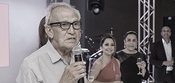 Morre o professor Antônio Sobrinho, um dos fundadores do IESP