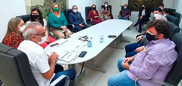 Reitora do UNIESP participa de reunião sobre imunização de profissionais de educação com Prefeitura de João Pessoa