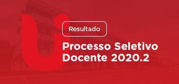 Resultado: Processo Seletivo Docente 2020.2