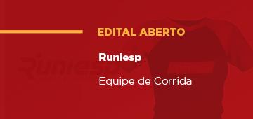 Runiesp: Convocação de participantes nas Modalidades Caminhada e Corrida