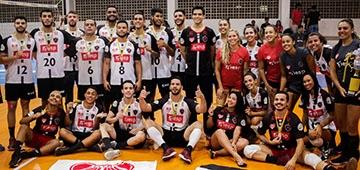 Uniesp/Botafogo-PB é campeão masculino e feminino da Liga Paraibana de Vôlei